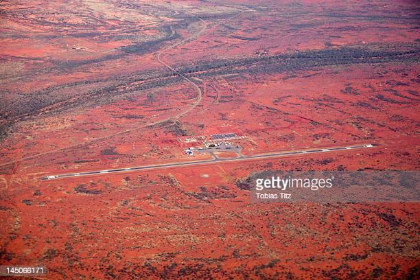 A remote airport, Newman, The Pilbara, Western Australia