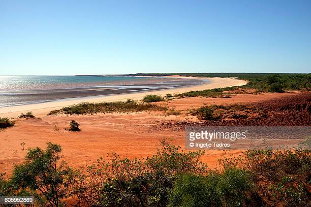 Remote beach in the North West of Australia
