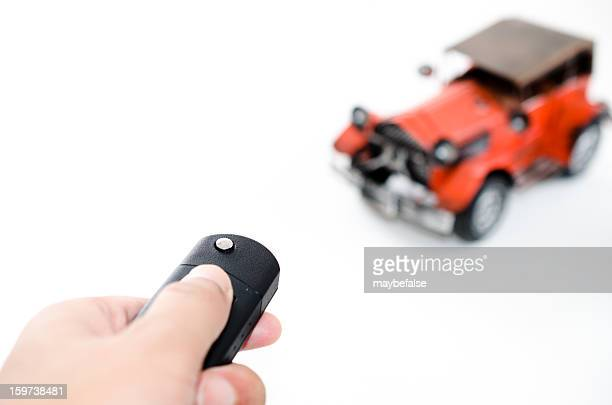 remote control a bubble car - remote control car games stock photos and pictures