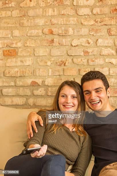 TV Remote Control Couple
