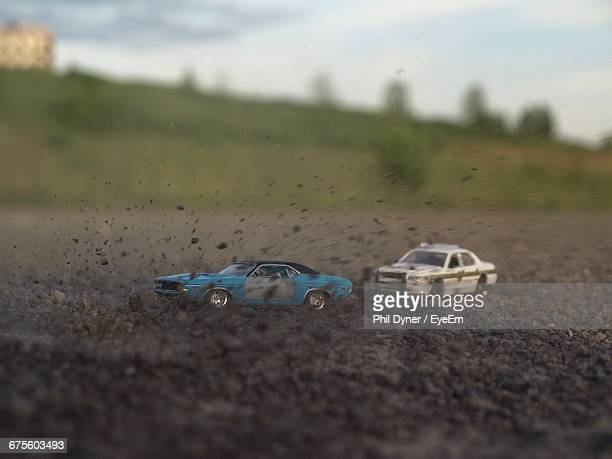 remote controlled cars on dirt road - remote controlled stock photos and pictures