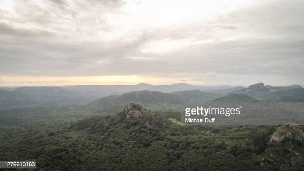 remote jungles near kabala, sierra leone - シエラレオネ ストックフォトと画像