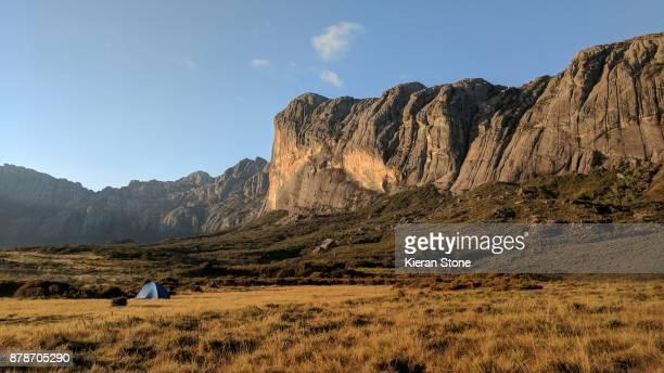 Remote Mountain Landscape