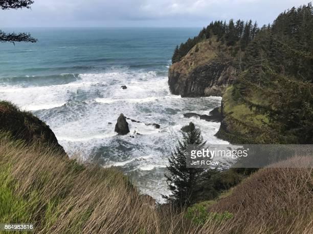 Remote Oregon Coastline