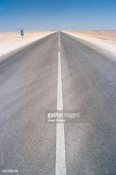 Remote Road in the Desert