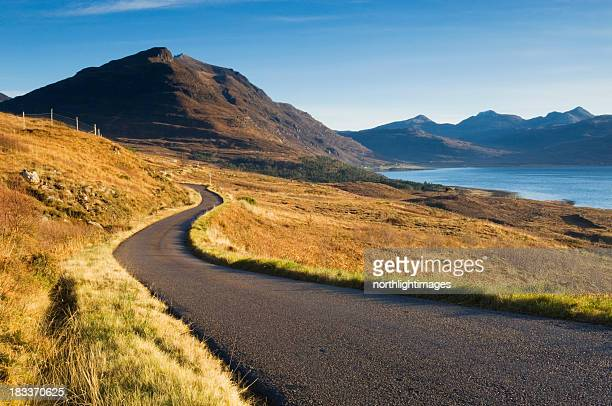 Remote Scottish road