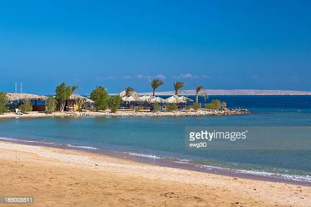 Abgeschiedenen tropischen Strand