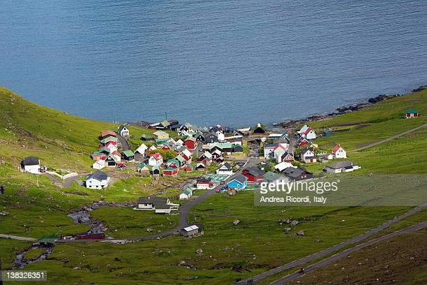 Remote village of Funningur