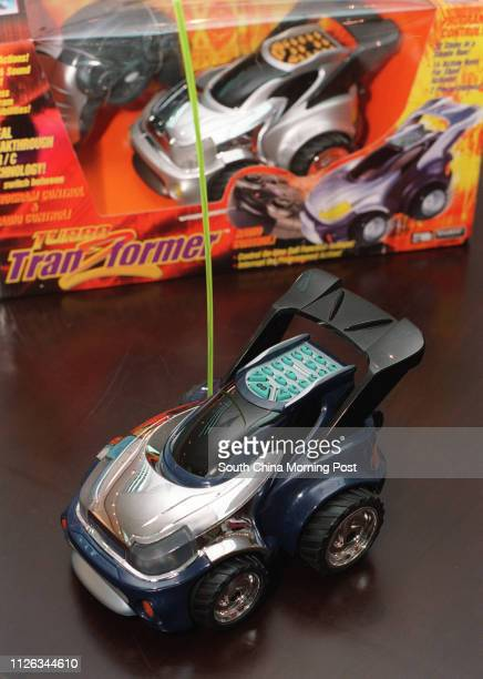 A remotecontrol car from the Silverlist Toys Manufacturing will be displayed in the Hong Kong Trade Development Council's Toys and Games Fair 18...