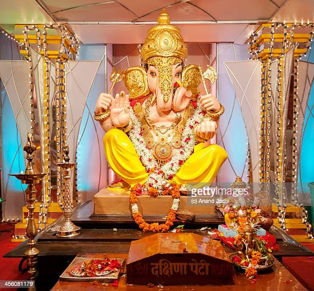 remover of obstacles - ganesh chaturthi stock photos and pictures