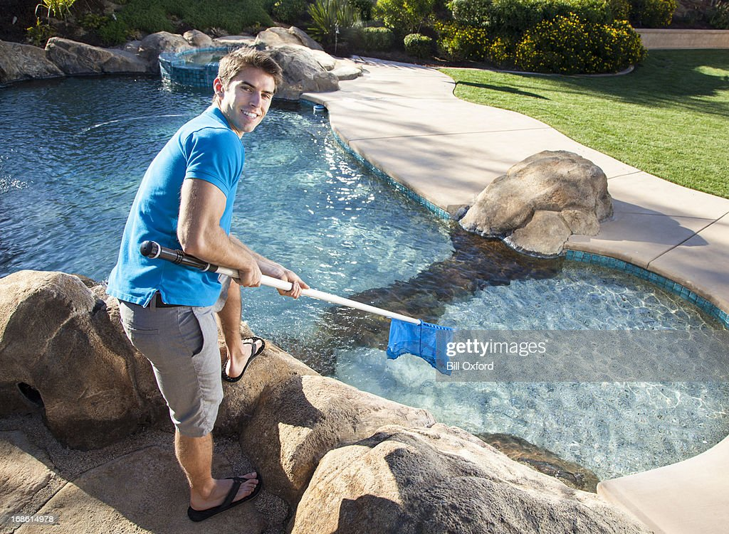 Removing Leaves : Stock Photo