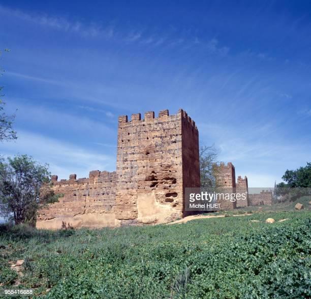 Remparts du palais d'El Mechouar à Tlemcen Algérie