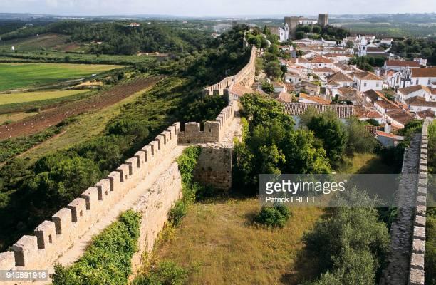 Remparts Obidos Costa da Prata Portugal
