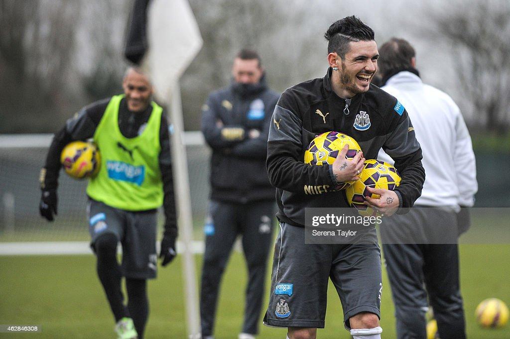 Newcastle United Training Session