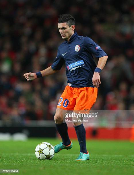 Remy Cabella of Montpellier