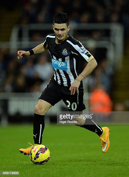 Remy Cabella of Newcastle United during the Barclays Premier League football match between Newcastle United and Queeens Park Rangers at St James'...