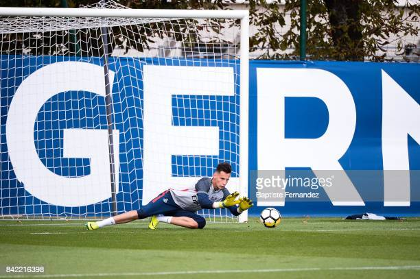 Remy Descamps of Paris Saint Germain during the National 2 match between Paris Saint Germain B and Chasselay on September 2nd 2017 in Paris France