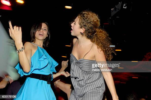 Remy Geller and Sara Foresi attend Party 4 a Cause at The Ultra on November 8 2008 in New York City
