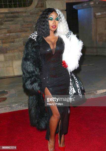 Remy Ma arrives at Chris Brown album release Pop up for 'Heartbreak On A Full Moon' at Universal Studios Hollywood on October 31 2017 in Universal...