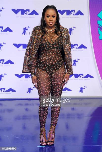 Remy Ma arrives at the 2017 MTV Video Music Awards at The Forum on August 27 2017 in Inglewood California