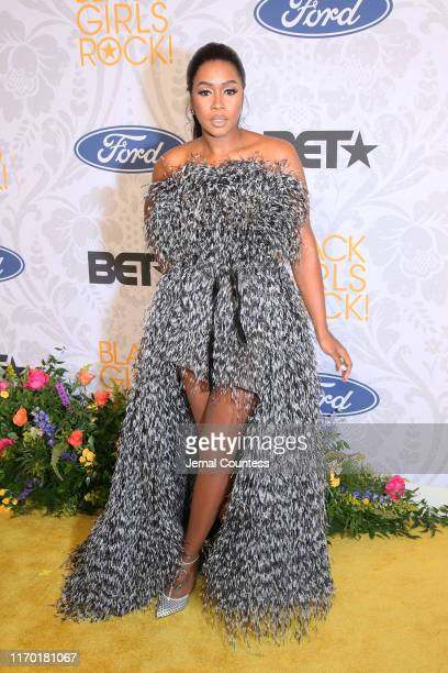 Remy Ma attends Black Girls Rock 2019 Hosted By Niecy Nash at NJPAC on August 25 2019 in Newark New Jersey
