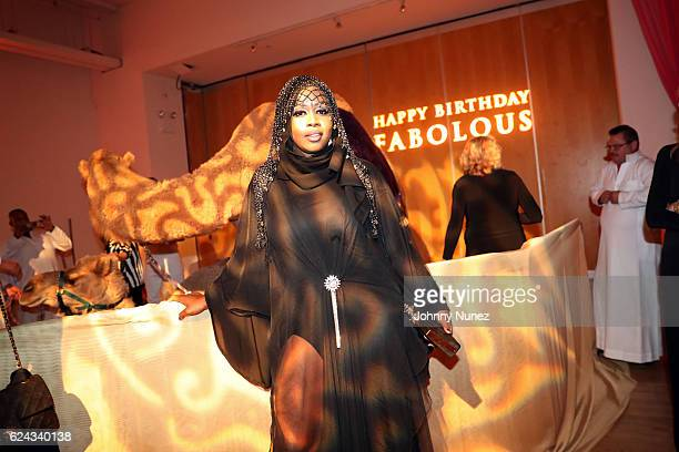 Remy Ma attends Fabolous' A Night In FABU DHABI Birthday Celebration on November 18 2016 in New York City