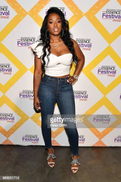 Remy Ma attends the 2018 Essence Festival presented by CocaCola at Ernest N Morial Convention Center on July 6 2018 in New Orleans Louisiana