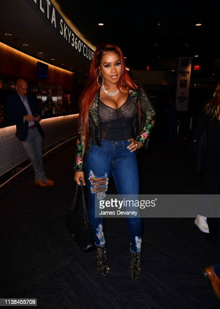 Remy Ma attends Top Rank VIP party prior to the WBO welterweight title fight between Terence Crawford and Amir Khan at Madison Square Garden on April...