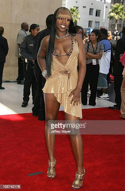 Remy Ma during 2005 BET Awards Arrivals at Kodak Theatre in Hollywood California United States
