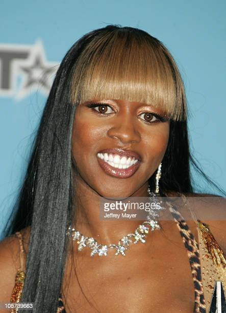 Remy Ma during 2005 BET Awards - Press Room at Kodak Theatre in Hollywood, California, United States.