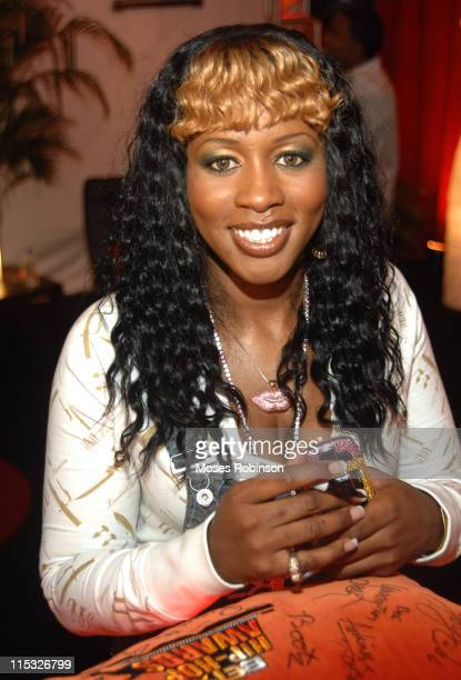 Remy Ma during 2006 BET Hip-Hop Awards - Nintendo VIP Lounge and Media Lounge - Day 2 at Fox Theatre in Atlanta, Georgia, United States.