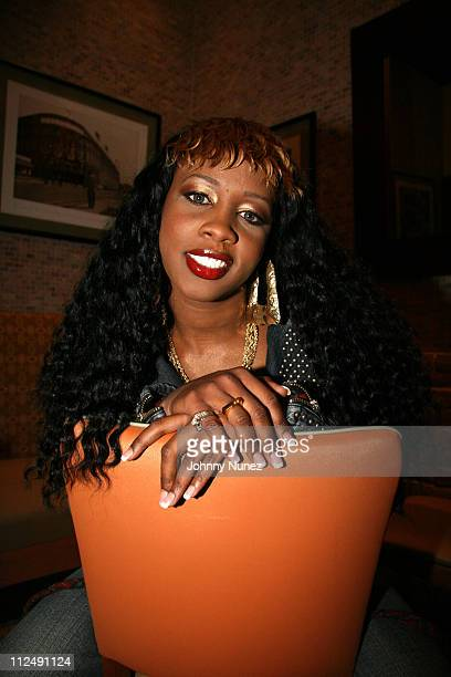Remy Ma during Hip Hop Celebrity At Your Service At Juniors Restaurant at Juniors Restaurant in New York City New York United States