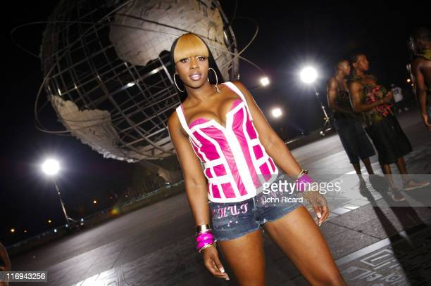 Remy Ma during Remy Ma on Location for 'Whuteva' Music Video July 13 2005 at Queens in New York City New York United States
