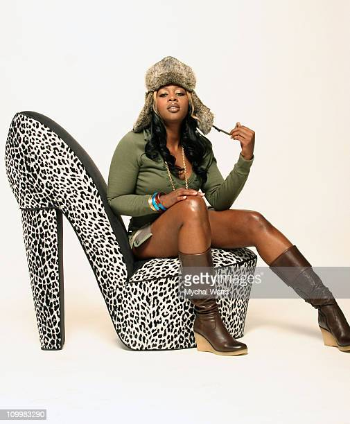 Remy Ma during Remy Ma Photoshoot October 4 2005 at Studio Session in New York City New York United States