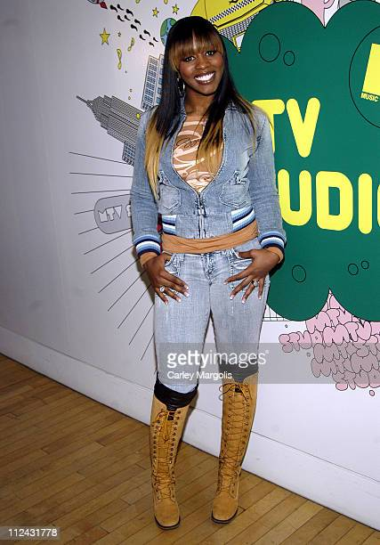 Remy Ma during Remy Ma Visits MTV2's 'Hip Hop' February 8 2006 at MTV Studios in New York City New York United States