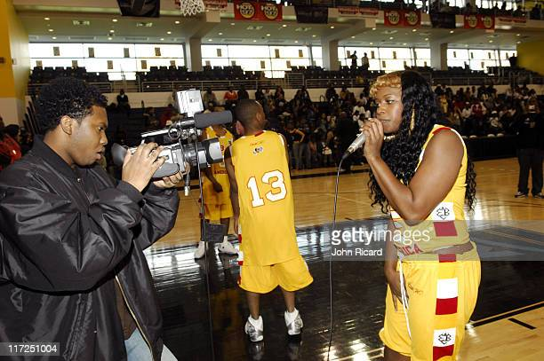 Remy Ma during VH1 Hip Hop Honors Celebrity Hoops Game October 15 2006 at Long Island University in New York New York United States