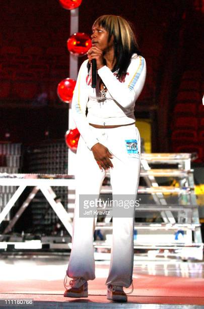 Remy Ma of Terror Squad during 2004 MTV Video Music Awards Lil' Jon and Fat Joe Rehearsals Day 1 at American Airlines Arena in Miami Florida United...