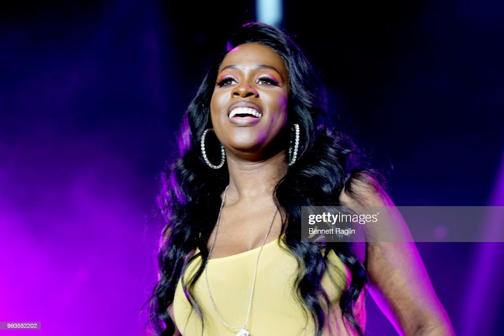 Remy Ma performs onstage during the 2018 Essence Festival presented By Coca-Cola - Day 2 at Louisiana Superdome on July 7, 2018 in New Orleans, Louisiana.