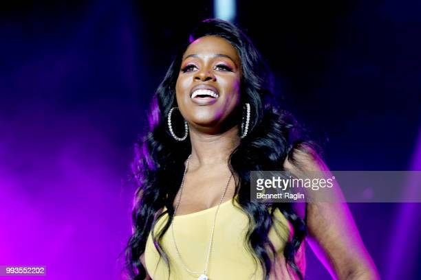 Remy Ma performs onstage during the 2018 Essence Festival presented By CocaCola Day 2 at Louisiana Superdome on July 7 2018 in New Orleans Louisiana