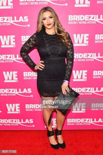Remy Maaddi attends WE tv Launches Bridezillas Museum Of Natural Hysteria on February 22 2018 in New York City