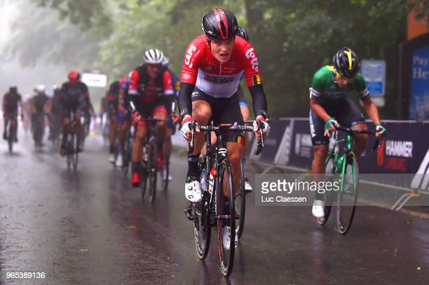 Remy Mertz of Belgium and Team Lotto Soudal / during the 3rd Velon Hammer Series 2018 Stage 1 a 77km race from Vaals to Drielandenpunt 327m / Hammer...