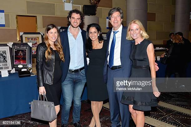 Remy Weinstein David Weinstein Rose Ann Weinstein Jeffrey Weinstein and Nancy Sanford attend Strolling Supper Lung Cancer Research Foundation's...