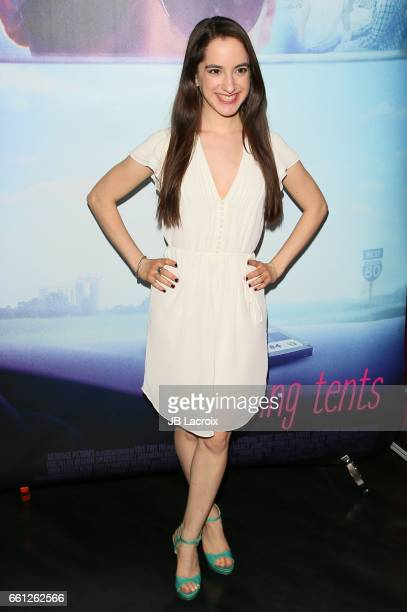 Remy Zaken attends the premiere of Meritage Pictures' 'Pitching Tents' on March 30 2017 in Santa Monica California