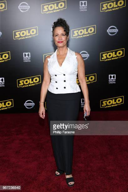 Rena Owen attends the premiere of Disney Pictures and Lucasfilm's 'Solo A Star Wars Story' on May 10 2018 in Hollywood California