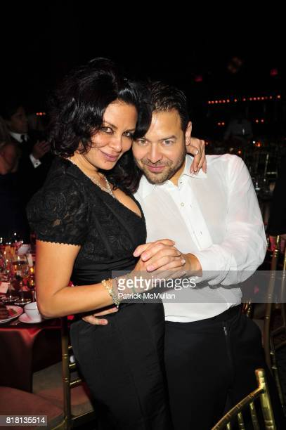Rena Sindi and Alvin Valley attend Silver Hill Hospital 80th Anniversary Gala at Cipriani 42nd Street on November 11 2010 in New York City
