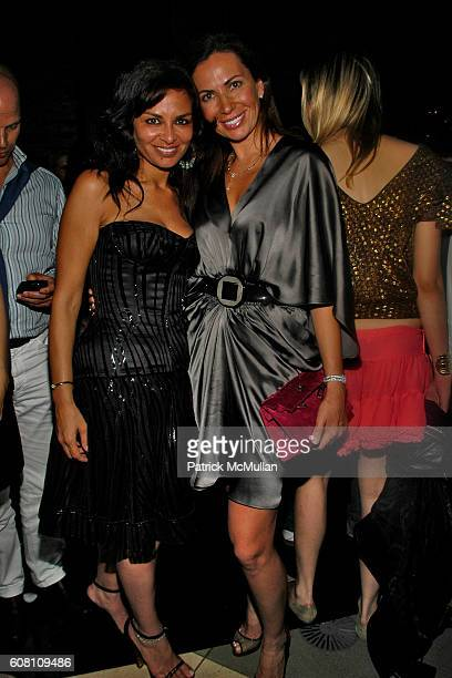 Rena Sindi and Inga Rubenstein attend STELLA KESAEV Of STELLA ART FOUNDATION Hosts Cocoktail And Exclusive Concert Of Italian Blusesman PAOLA CONTE...