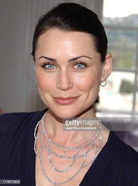 Rena Sofer at House of Taylor Jewelry during 2007 Silver Spoon PreOscar Suite Day 2 at Beverly Wilshire Hotel in Los Angeles California United States...