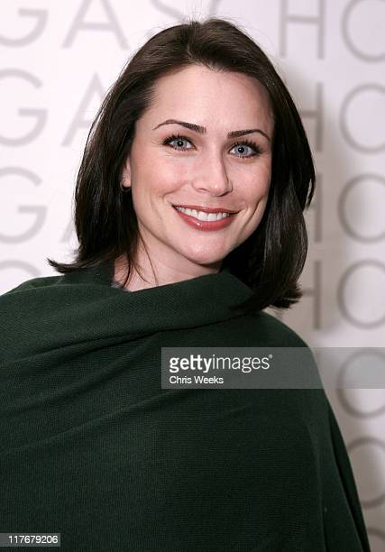 Rena Sofer during 2007 Silver Spoon Golden Globes Suite Day 1 at Private Residence in Los Angeles California United States Photo by Chris...