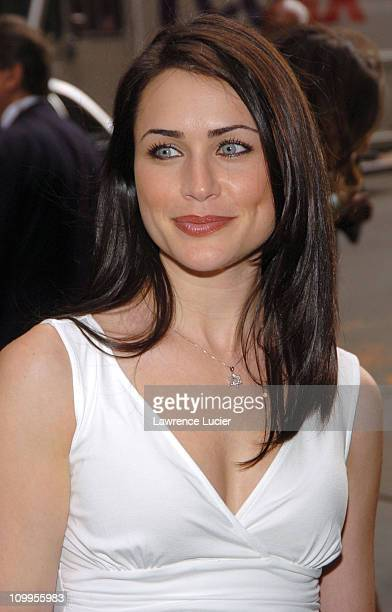 Rena Sofer during ABC 2004/2005 Primetime Upfront Arrivals at Cipriani's in New York City New York United States