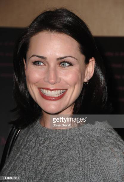 Rena Sofer during Diamond Information Center and InStyle Host 6th Annual Awards Season Diamond Fashion Show Preview Arrivals at Beverly Hills Hotel...